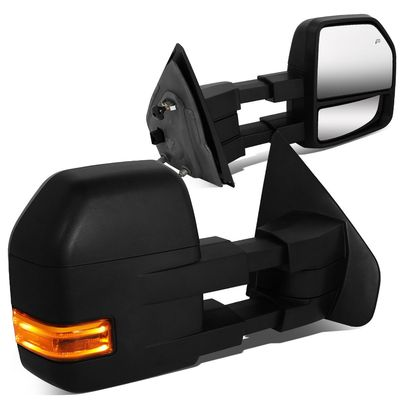 04-14 Ford F150 Power / Heated / LED Signal & Puddle Towing Side Mirrors Pair