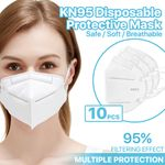 10-Pieces KN95 Face Masks [Non-Medical Use]