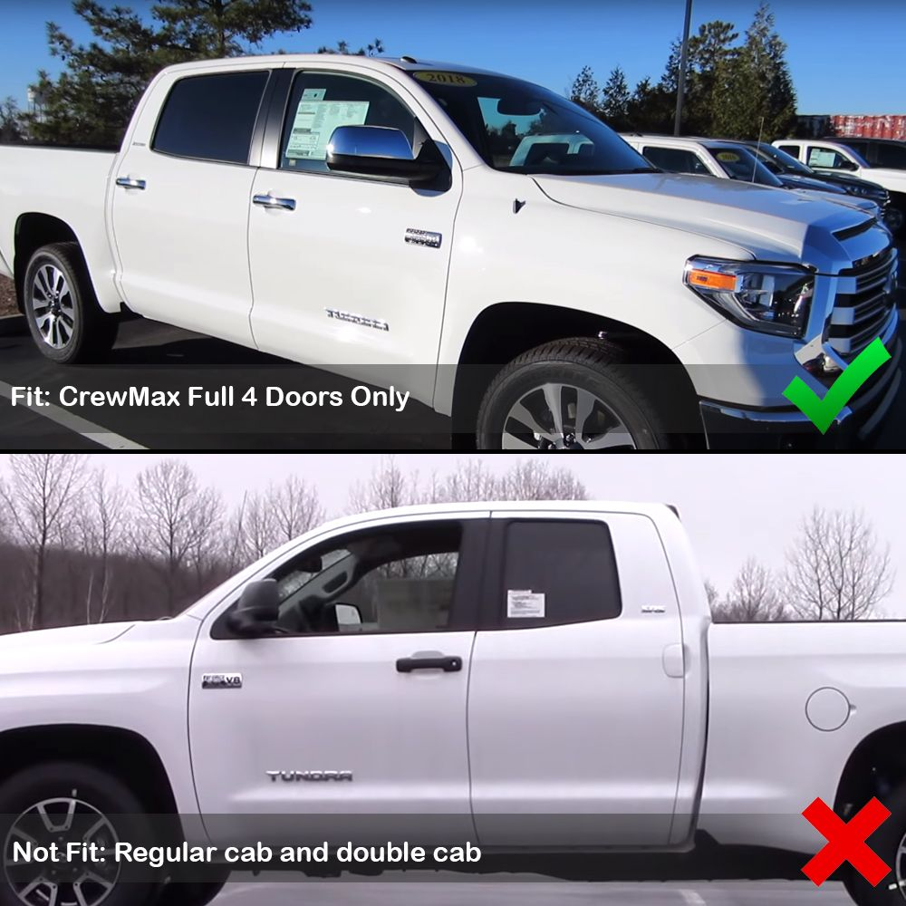 2014-2019 Toyota Tundra CrewMax Rubber All Weather 4 Doors