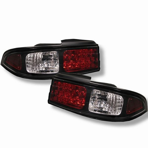 Nissan 240Sx 95-96 LED Altezza Tail Lights - Black Left And Right Only ALT-YD-N240SX95-LED-BK By Spyder