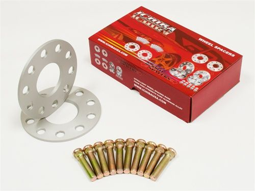 ICHIBA V1 5mm HubCentric Wheel Spacers + Studs 5x114 66.2mm Bore 12x1.25 (NS-50205)