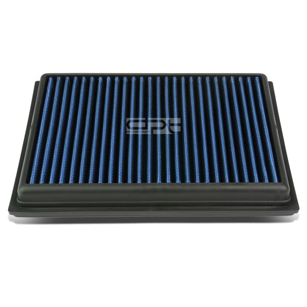 Nissan Sentra / Rogue / Infiniti FX/Q Reusable & Washable Replacement High Flow Drop-in Air Filter (Blue)