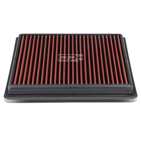 Nissan Sentra / Rogue / Infiniti FX/Q Reusable & Washable Replacement High Flow Drop-in Air Filter (Red)