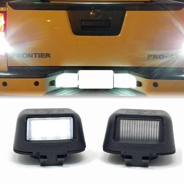 Nissan Titan Xterra Armada Frontier 3W LED License Plate Light