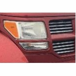 Dodge Nitro OE-Style Replacement Crystal Headlights