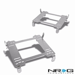 NRG 06-11 Honda Civic Tensile Stainless Steel Racing Seat Mounting Bracket (Left & Right) - 8th Gen FG