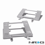 NRG 79-98 Ford Mustang Tensile Stainless Steel Racing Seat Mounting Bracket (Left & Right) - 3rd Gen