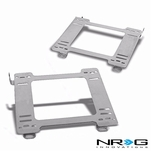 NRG 90-97 Mazda Miata MX-5 Tensile Stainless Steel Racing Seat Mounting Bracket (Left & Right) - 1st Gen NA