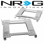 NRG 92-95 Honda Civic Tensile Stainless Steel Racing Seat Mounting Bracket (Left & Right) - 5th Gen EG