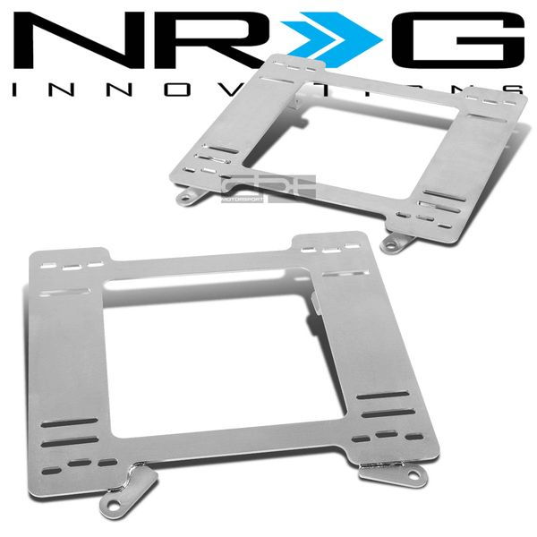 NRG 93-02 Chevy Camaro/Pontica Firebird Tensile Stainless Steel Racing Seat Mounting Bracket (Left & Right)