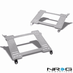 NRG 93-07 Subaru Impreza WRX/STi Tensile Stainless Steel Racing Seat Mounting Bracket (Left & Right) - GD GG