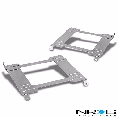 NRG 94-01 Acura Integra Tensile Stainless Steel Racing Seat Mounting Bracket (Left & Right) - DC2