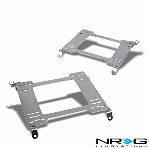 NRG 98-02 Honda Accord Tensile Stainless Steel Racing Seat Mounting Bracket (Left & Right) - 6th Gen CG