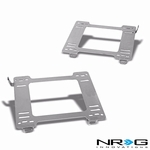 NRG 99-05 Mazda Miata MX-5 Tensile Stainless Steel Racing Seat Mounting Bracket (Left & Right) - 2nd Gen NB