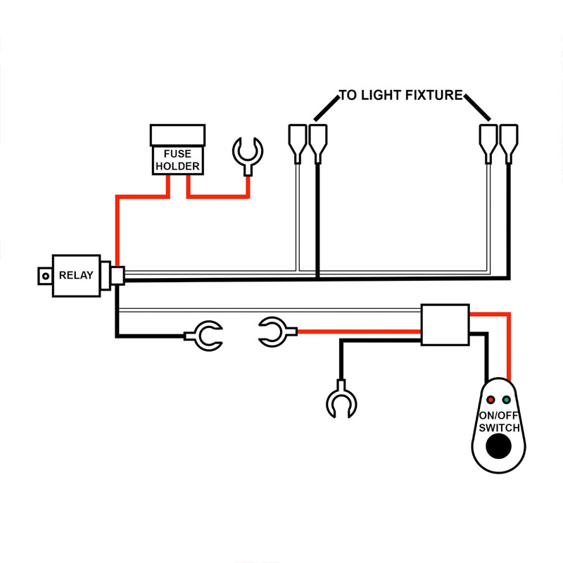 amp relay wiring diagrams for light bars on 3o 2004