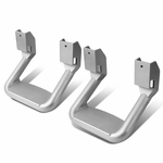 Pair of Aluminum Side Assist Step for Pickups & Trucks (Chrome)