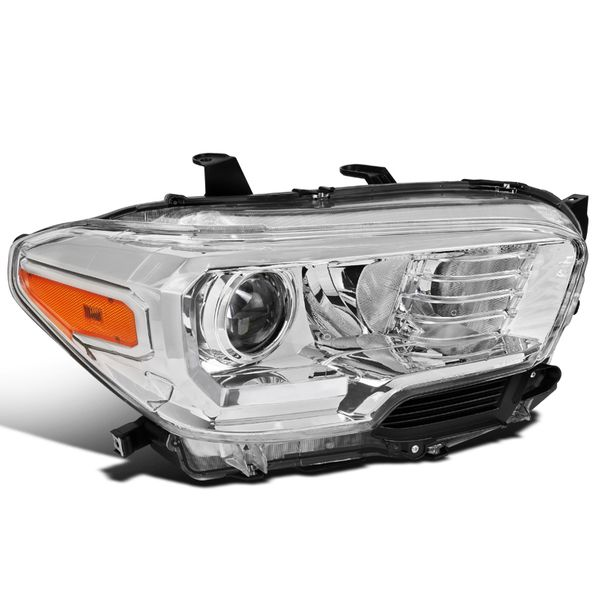 Passenger Side For 2016-2018 Toyota Tacoma Clear Projector Headlight