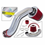 ProTuningLab 02-06 Acura RSX Base 2.0L Short Ram Air Induction Kit - Red Filter