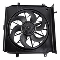 Radiator Cooling Fan & Motor Assembly for 02-05 Jeep Liberty 2.4L 3.7L