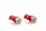 Red 360-Degree High Power 5-SMD 5730 T10 Wedge LED Light Bulbs 158 168 175 194 2825 2827 W5W 912 921