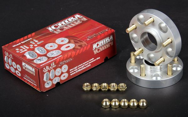 ICHIBA Version 2 15mm Hub Centric Wheel Spacers WS-5510054A 5x100 54.1 12x1.5