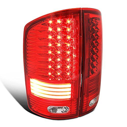 02-06 Dodge RAM Truck LED Tail Lights - Red