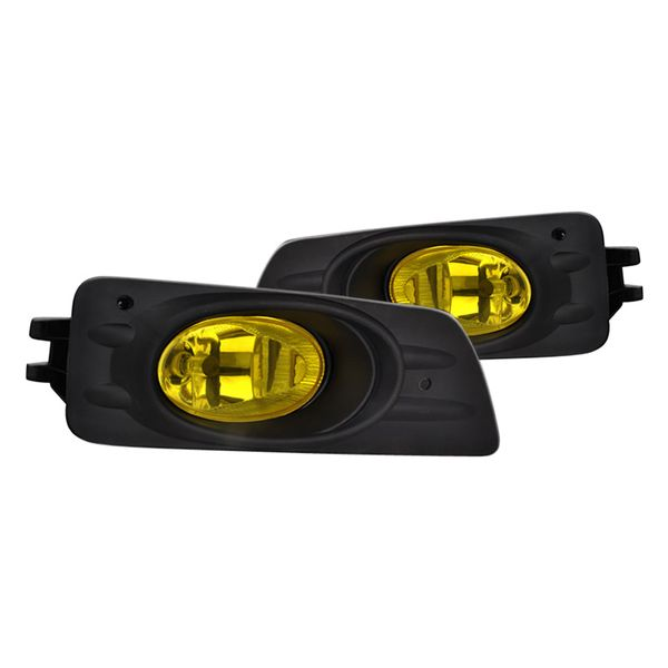Spec-D 06-07 Honda Accord 4 Doors OEM Style Fog Light Amber Lens