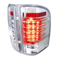 Spec-D 07-14 Silverado 1500 2500 3500 High Performance LED Tail Lights - Chrome