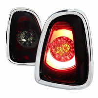 11-14 Mini Coooper Base / S LED Tail Lights - Red Smoked