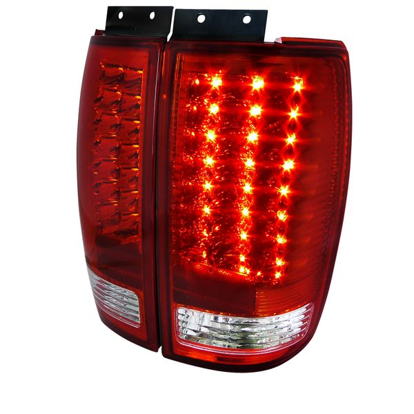 1997-2002 Ford Expedition LED Tail Lights - Red