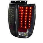 1997-2002 Ford Expedition LED Tail Lights - Smoked