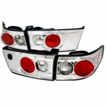 Spec-D 2003-2005 Honda Accord 4DR JDM Style Altezza Tail Lights - Chrome