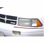 Dodge Spirit OE-Style Replacement Crystal Headlights
