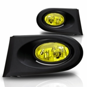 Spyder 02-04 Acura Rsx (All Model) Factory Style Yellow Fog Lights Kit (Include Wiring And Switch)