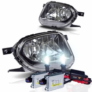 HID Xenon + 03-06 Mercedes Benz W211 E-Class OEM Style Replacement Fog Lights - Clear
