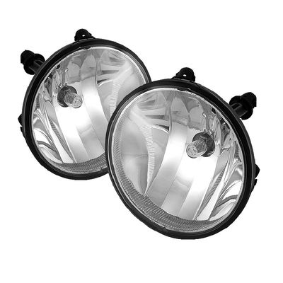 Winjet  07-14 Chevy Tahoe / Suburban / Avalanche Oem Style Fog Lights - Clear