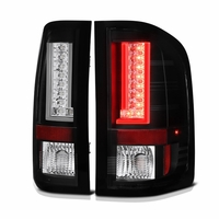 Spyder 07-13 Chevy Silverado / GMC Sierra V2 LED Tail Lights - Black
