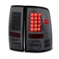 Spyder 09-2018 Dodge RAM [Non Factory LED Model] Performance LED Tail Lights - Smoked