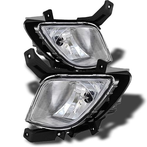 Spyder 10-12 Hyundai Tucson Replacement Fog Lights Kit - Clear