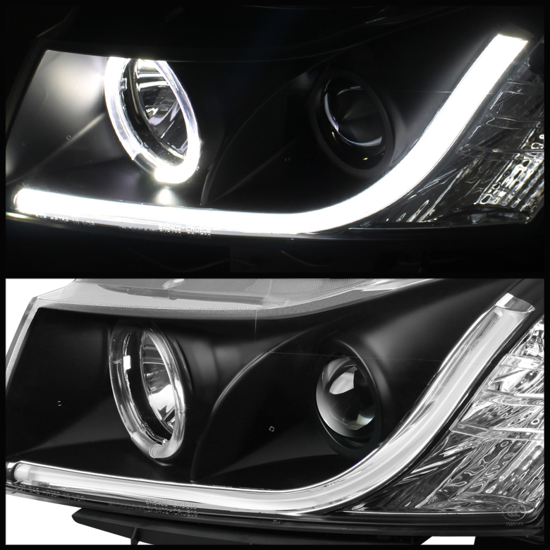 Spyder 11-13 Chevy Cruze DRL LED-Strip Halo Projector
