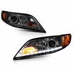 11-17 Toyota Sienna [Halogen Model w/o DRL] LED DRL Projector Headlights - Smoked