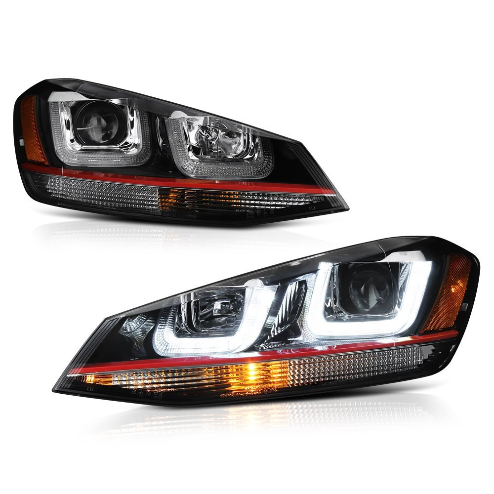 Spyder 14-16 Volkswagen Golf / GTI LED Bar Projector