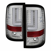 Spyder 16-17 GMC Sierra 1500 [Factory LED Model] LB LED Tail Lights - Chrome