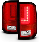 Spyder 16-17 GMC Sierra 1500 [Factory LED Model] LB LED Tail Lights - Red Clear
