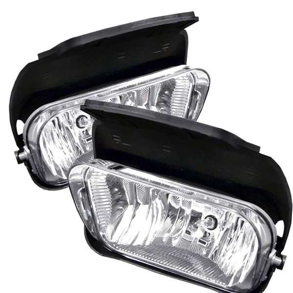 03-06 Chevy Silverado / Avalanche OEM Style Replacement Fog Lights Kit - Clear