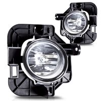 2007-2009 Nissan Altima 4Dr OEM Style Replacement Fog Lights Kit - Clear