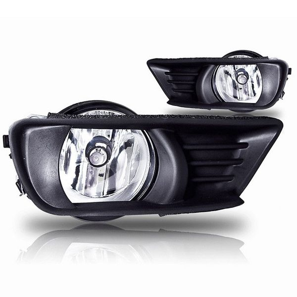2007-2009 Toyota Camry OEM Style Replacement Fog Lights - Clear