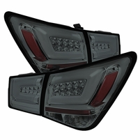 Spyder 2010-2016 Chevy Cruze PHILIPS-LED Light Tube Performance Tail lights - Smoked