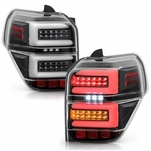 Spyder® 2010-2020 Toyota 4Runner Full LED Tube w/Sequential Tail Lights - Black