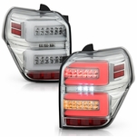 Spyder® 2010-2020 Toyota 4Runner Full LED Tube w/Sequential Tail Lights - Chrome